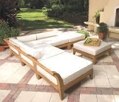 patio furniture chair cushions fresh elegant wood patio furniture kits with square seat cushions