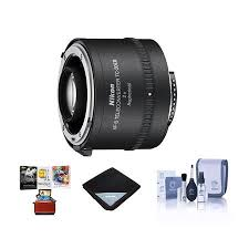 Nikon Tc 20e Iii 2x Af S Teleconverter Usa Warranty With Free Accessory Bundle
