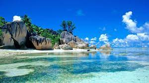 Tropical Beach Landscape Mobile HD ...