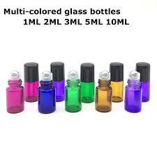 <b>5pcs</b> 1ml <b>2ml</b> 3ml <b>5ml 10ml</b> Glass Roll on Bottle Sample Test ...