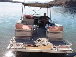 sand m e s 1990 lowe 24ft rebuild done pontoon forum get help with your pontoon project page 1