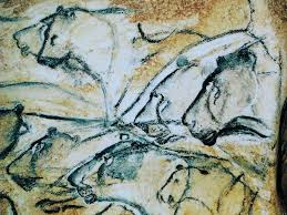 the lion panel in the grotte chauvet pont d arc