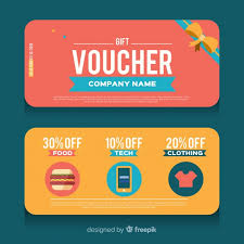 10 Off Coupon Template Colorful Coupon Template With Flat Design Vector Free Download