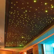 Diy Star Light Ceiling Fiber Optic Lighting Ceiling Panels Ceiling Light Starry