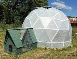 this geodesic dome greenhouse project