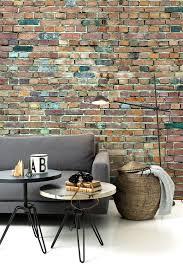 Stockholm Brick Wall Wall Mural Bricks Brickwall Tegel Tapet