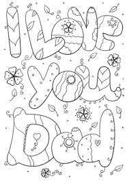 valentines day coloring pages for dad. Wonderful Dad I Love You Dad Coloring Pages On Valentines Day Pages For