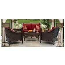 devonport 4 piece wicker patio conversation furniture set. target home™ rolston wicker patio furniture collection - red. back patio? devonport 4 piece conversation set c