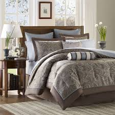 madison park aubrey 12 piece complete bed set love the color combo for master bedroom