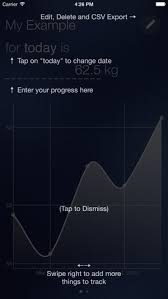 Progress Chart Tracker Track Progress On Anything In A Chart E G Body Weight Gym Exercises Personal Stats