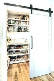 barn door pantry sliding doors pocket ideas kitchenette cabinet kitch pantry barn door ideas sliding