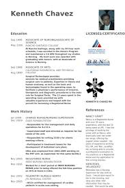 Charge Nurse Resume Samples - Visualcv Resume Samples Database