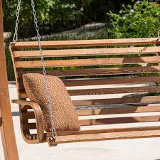 Patio Swing Benchc2a0 91edpqggnnl Sl1500 Wood Bench Outdoor Glider
