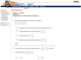 solving systems of equations using matrices worksheet image