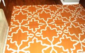 round orange rug area rugs small sheepskin throw rug round