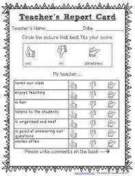 Teacher Report Card For Elementary Students | Misc School Ideas ...