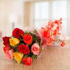 roses flowers bouquets delivery in india