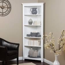 corner bookcase white  ira design