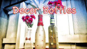Small Picture DIY Home Decor Beautiful Bottle Crafts from Recycled items Best