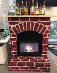 if you would like to build your very own fake fireplace here s how