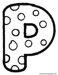 bubble letter p