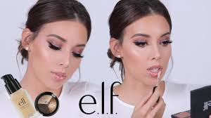 full face using only e l f makeup tutorial elf did that