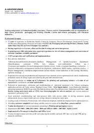 Resume For Packaging Job Best Of Resume 242424[24 24