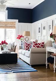 red white blue summer decorating ideas