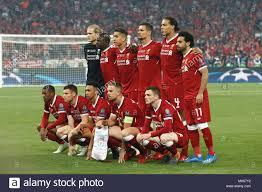 Liverpool Mannschaft Gruppe Line-up (Liverpool), 26. Mai 2018 - Fußball:  UEFA Champions League Finale zwischen Real