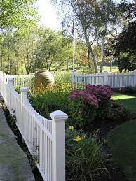 white fence ideas. Decorative Fence Ideas Landscape Traditional With Wood Fencing Garden Art White