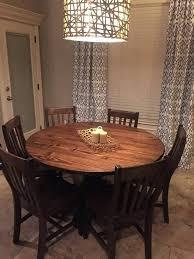 jamesjames custom wood furniture jamesjames furniture 54 round dining table with 6 chairs