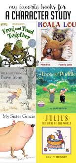 these are my favorite books for teaching character changes paring characters and having a character study in a first or second grade clroom