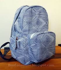 Diy Backpack Pattern