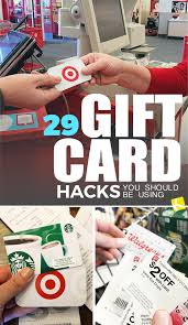 29 gift card hacks you should be using