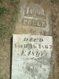 Polly Carpenter (Unknown-1863) - Find A Grave Memorial