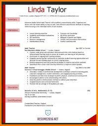 Best Resume Format For Teachers Best Teacher Resume Example