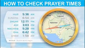 Prayer Times Namaz Times In Urdu Hindi