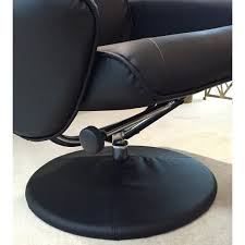 massage chair and footstool. fairmont furniture lyon black recliner massage chair with footstool and o