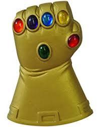 infinity gauntlet glove. diamond select toys marvel: the infinity gauntlet bottle opener glove
