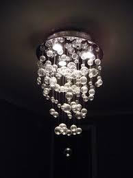 glass bubble chandelier lighting. Chandelier Modern Bubble I Sooo Want A Over My Bathtub Decor Ideas Module 44 Glass Lighting