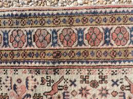 vintage persian leski rug 3 5 medium neutral tones ivory pale pink grey blue beige swanson