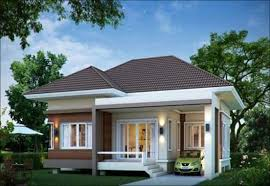 Modern Bungalow House Designs and Floor Plans Pictures