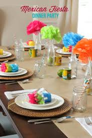Mexican Themed Kitchen Decor Dinner Party Ideas Mexican Fiesta Party Mirabelle Creations