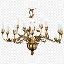 lighting chandelier gold leaf cartoon chandelier