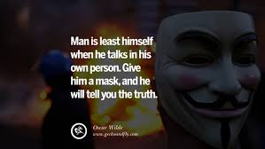 40 Quotes On Wearing A Mask Lying And Hiding Oneself Best Carnival Quotes Tumblr