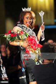 Pageant winner, Priscilla Noel wears the crowns as she attends the ...