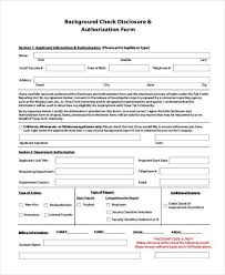 18 New Background Check Consent Form | Sahilgupta.me