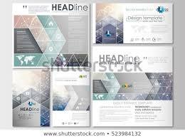 Social Media Design Templates Social Media Posts Set Business Templates Stock Vector Royalty Free