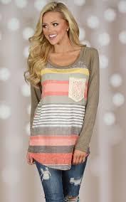 <b>Fashionable Colorful Scoop Neck</b> Asymmetrical Long Sleeve T-Shirt ...