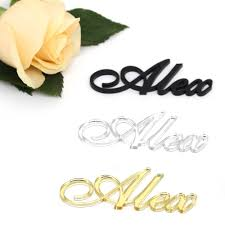 1x Personalised <b>Wedding</b> Events Seating Place Names Silver <b>Gold</b> ...